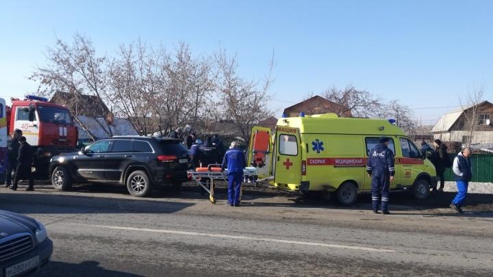 При столкновении двух легковушек на Щербакова погибла 32-летняя тюменка