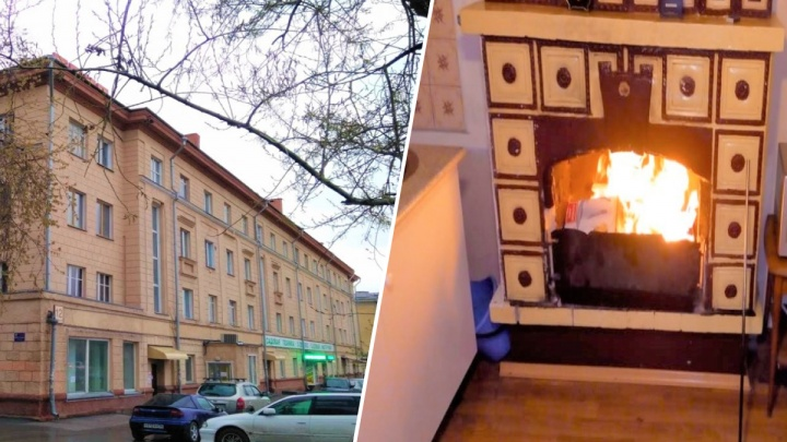 К зиме готовы: в Новосибирске за 3 миллиона продают квартиру с действующим камином