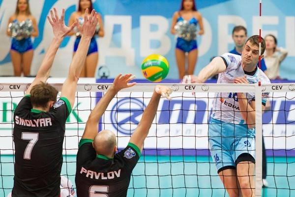 Волейбол: «Локомотив» победил «Динамо»