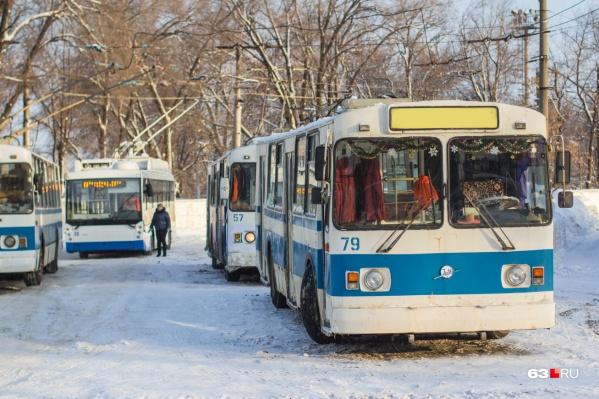 ЧП произошло в одном из троллейбусных депо города