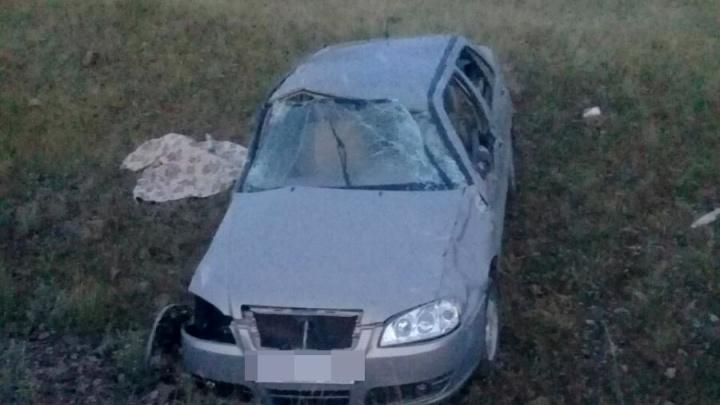 В Башкирии отечественная легковушка вылетела в кювет: есть погибшие