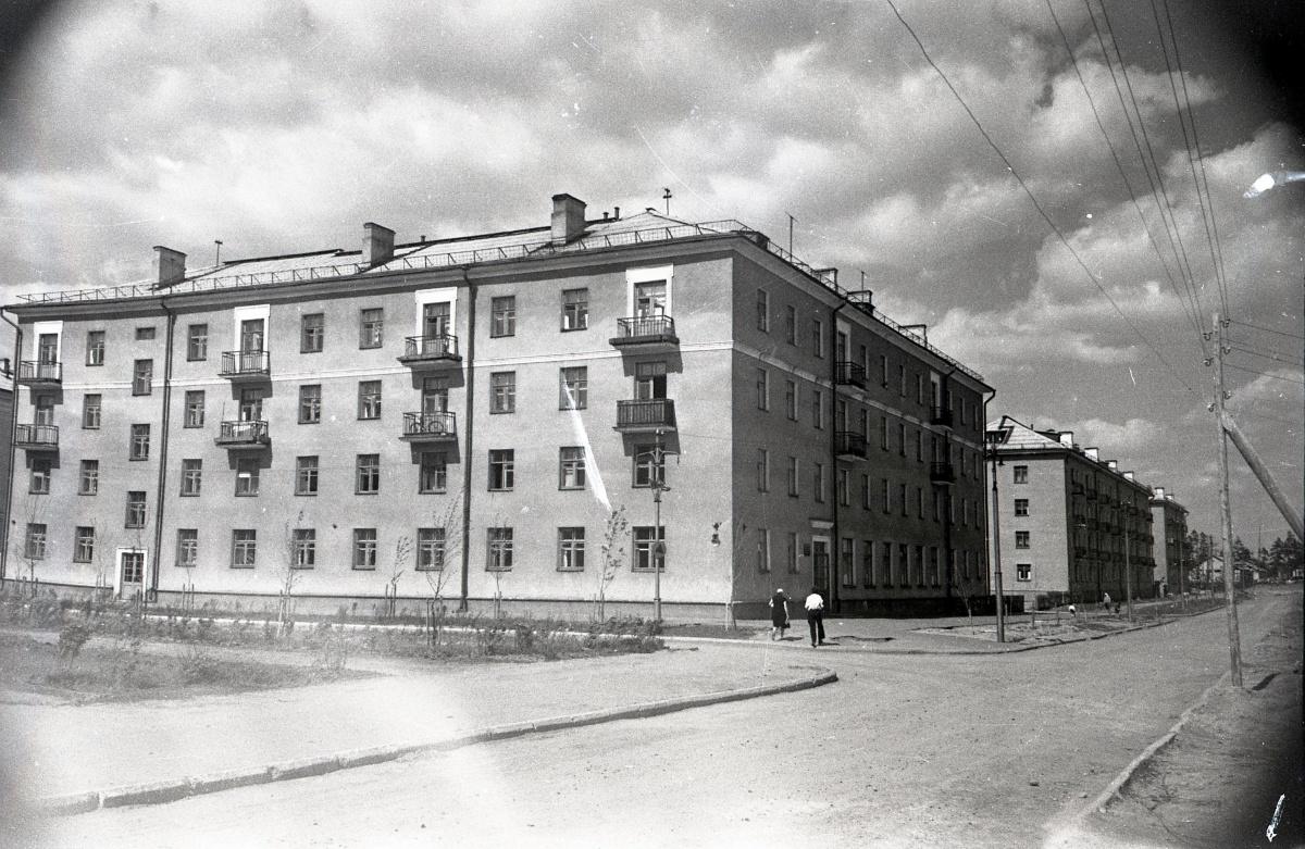 Улица Сортировочная, начало шестидесятых