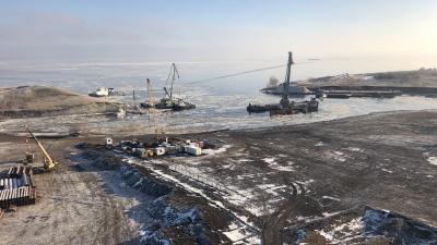 «На объекте работают 75 человек»: стартовала подготовка к строительству моста у Климовки