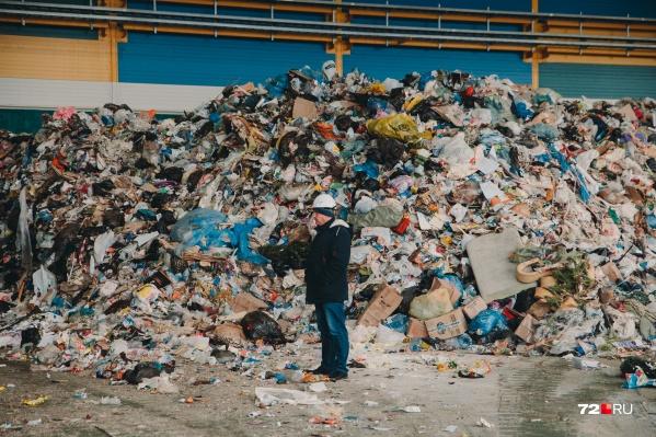 Весь мусор, который выкидывают тюменцы, поступает на мусоросортировочный завод. Объемы поставок впечатляют