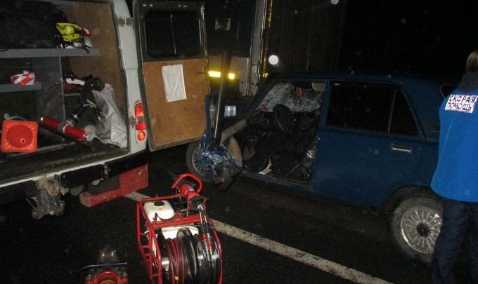 Влетел в припаркованный грузовик: на окружной в Переславле погиб водитель