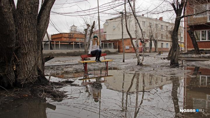 Снег и похолодание на 18 градусов: в Омске резко испортится погода