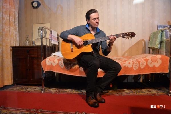Сергей Безруков прилетит в Екатеринбург помолиться для укрепления веры