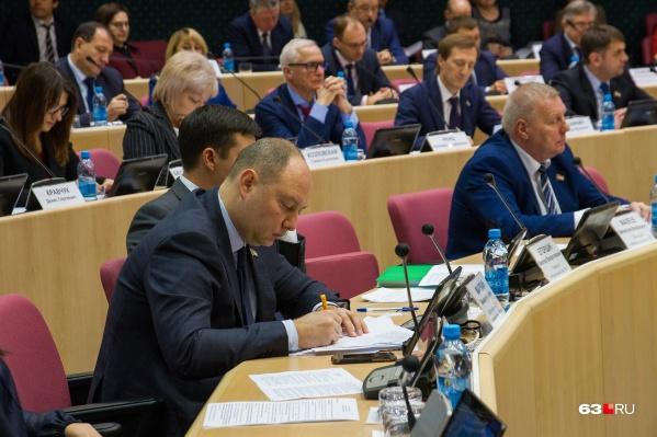 Михаил Маряхин не предупредил спикера, что пропустит заседание
