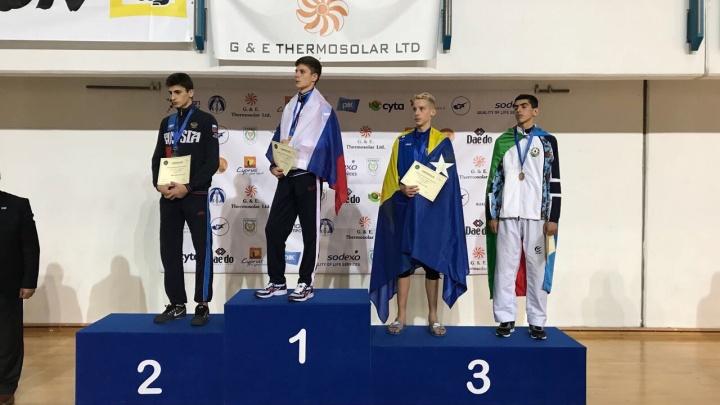 Новосибирскийтхэквондист стал чемпионом первенства Европы
