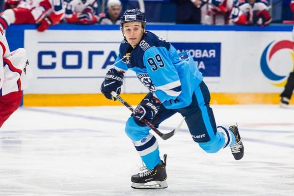 Форвард Никита Шашков дебютировал в«Сибири» в этом сезоне