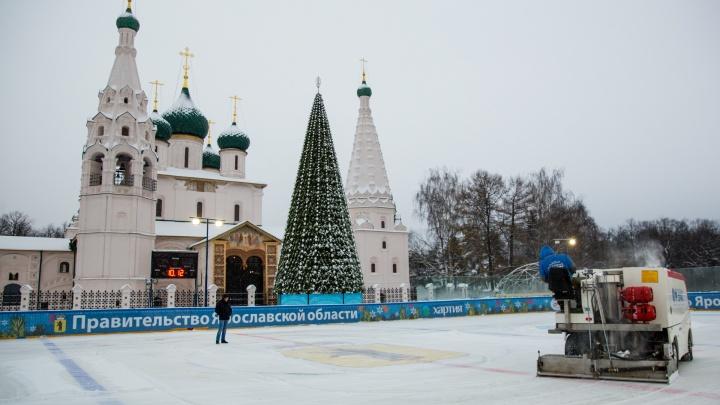 Стало известно, когда откроется каток на Советской площади в Ярославле