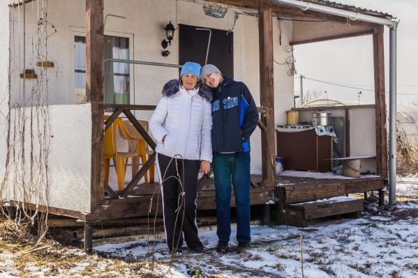 Алла Комиссарова построила дом вместе с сыновьями в 2017 году