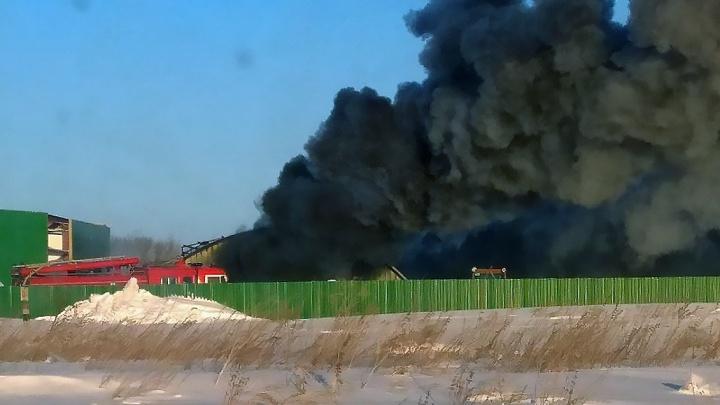 «Разломали забори проникли на склад»: директор загоревшегося завода рассказал о поджоге