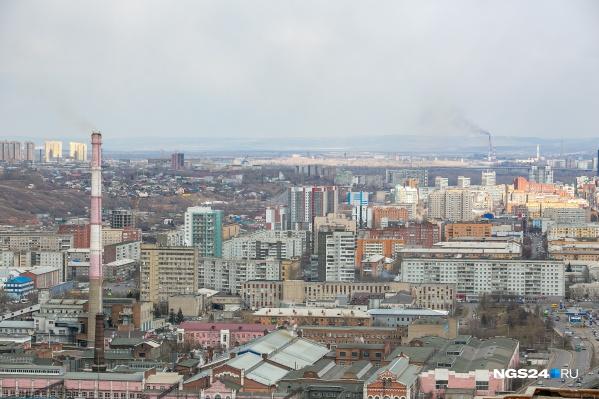 Свыше 70% загрязнений приходятся на центральные районы края, куда входит и Красноярск