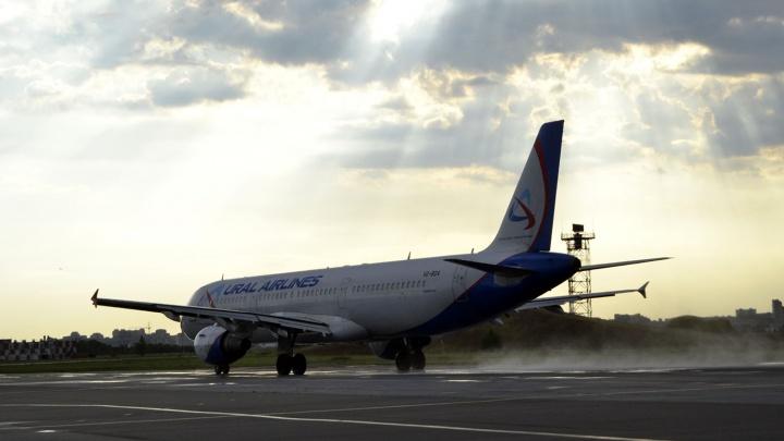 Уральская авиакомпания прокомментировала аварию самолёта, летящего из Омска в Домодедово