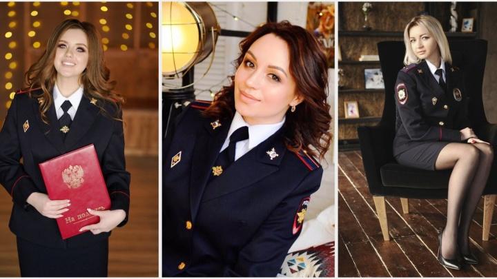 «Леди омская полиция-3»: любуемся прекрасными девушками в форме