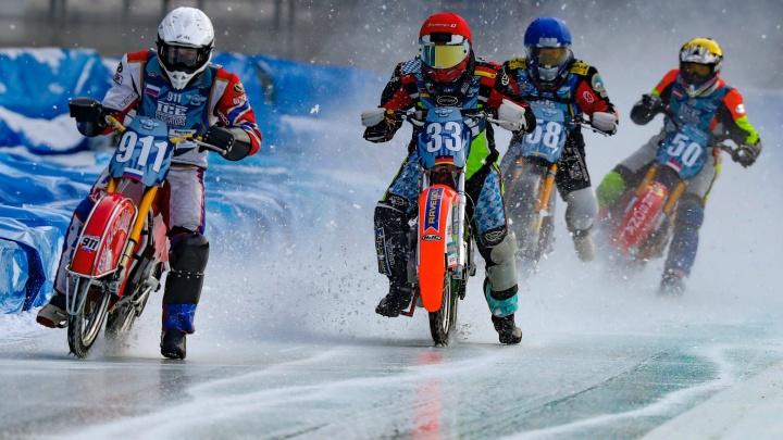 В Шадринске пройдет один из финалов личного чемпионата мира по мотогонкам на льду