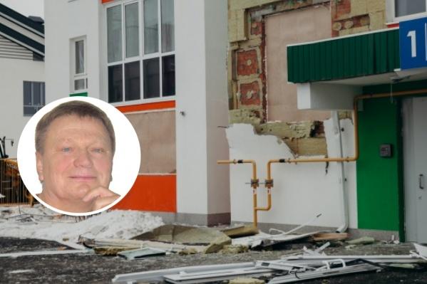 Руководитель«СибАгроинтер» считает, что его организацию ложно обвинили в повреждении газового трубопровода у дома на Шарова