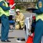 «Мужчину накрыли белой простыней»: красная иномарка улетела в кювет на трассе в Волгоградской области