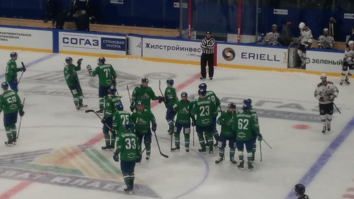 Завершающая игра домашней серии: «Салават Юлаев» примет ХК «Сочи» в стенах «Уфа-Арены»
