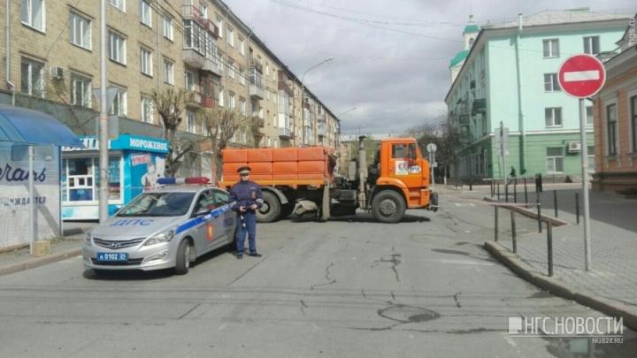 Дороги в центре Красноярска на день перекрывают ради красочного светового шоу