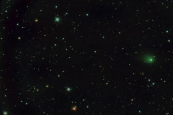Фотография сделана с 12 на 13 февраля 2020 в обсерватории планетария