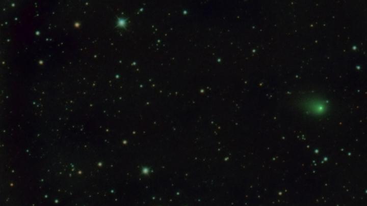 Новосибирские астрономы сфотографировали комету, которая считается одной из самых ярких в этом году
