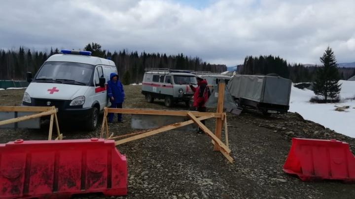 С Конжаковского Камня эвакуировали туристку, которая на сутки застряла в лесу из-за травмы ноги