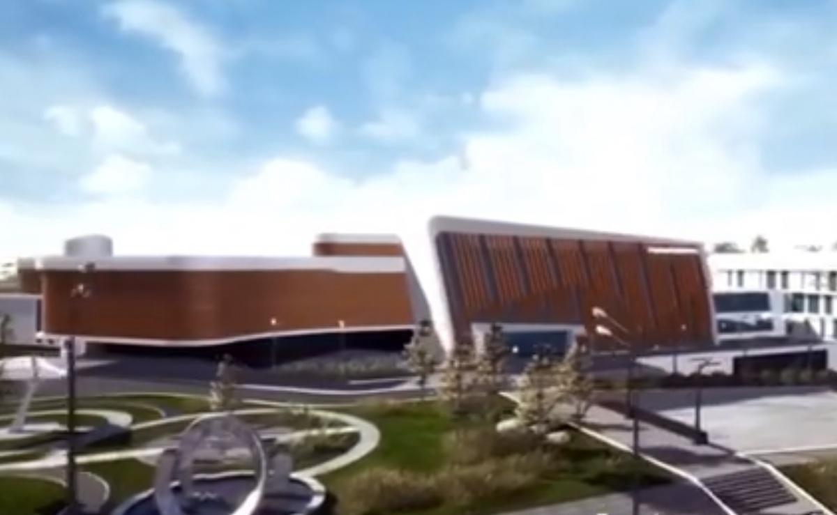 Судя по проекту, центр будет выглядеть очень современным и инновационным