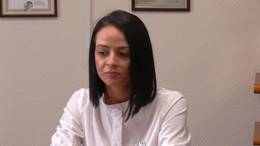 Ольга Глацких, руководитель департамента молодёжной политики, сейчас отстранена от должности