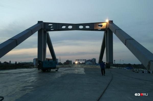 Осенью по этому мосту откроют движение