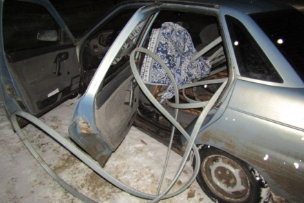 Кабель обнаружили в машине у нарушителя ПДД