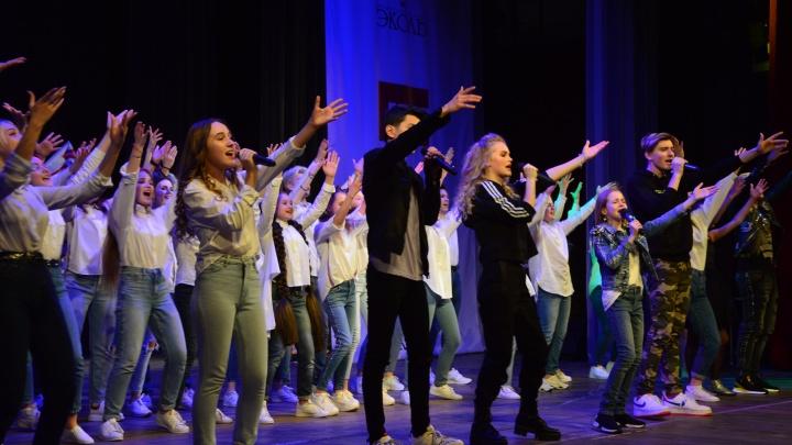 Ярославцы выступили на одной сцене с участниками «Голос.Дети»
