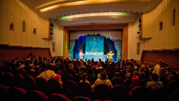 В кукольном театре показали новогодний спектакль для особых детей