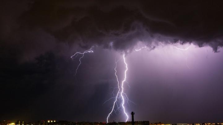 Омичей предупредили об ухудшении погодных условий: на город надвигается дождь с сильной грозой