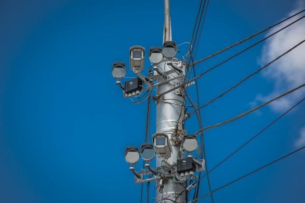 Камеры появятся на седьмом километре дороги, недалеко от остановки «Развилка»