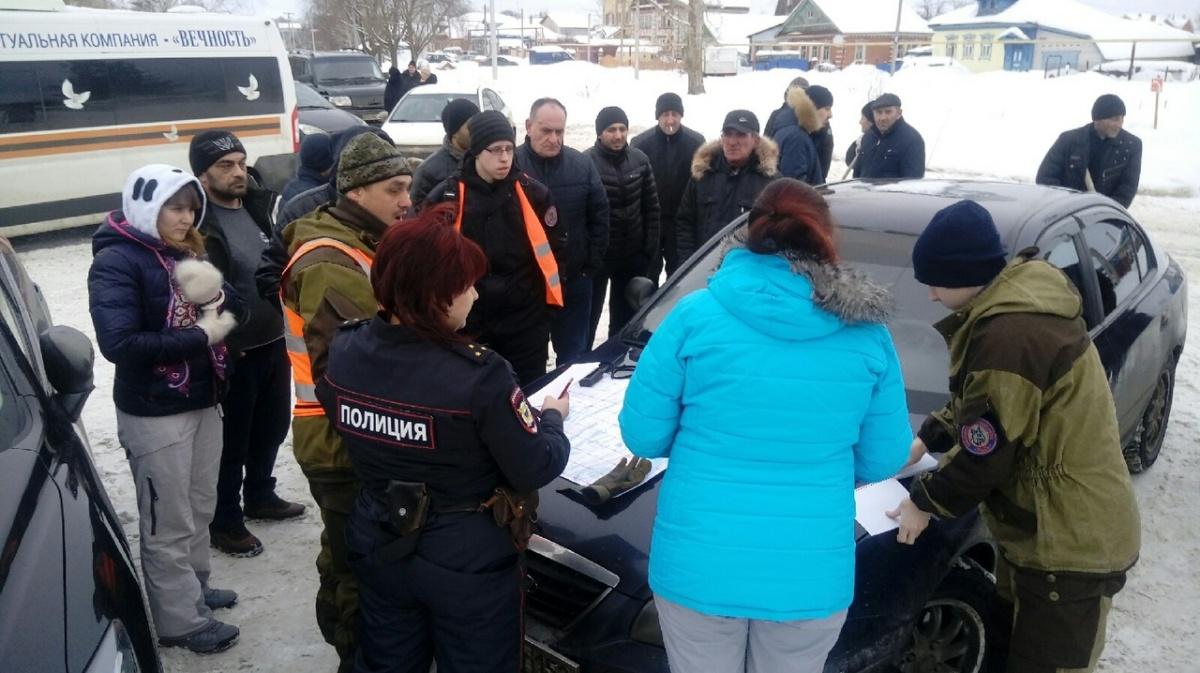 На поиски собрались соотечественники пропавшего, полиция и добровольцы