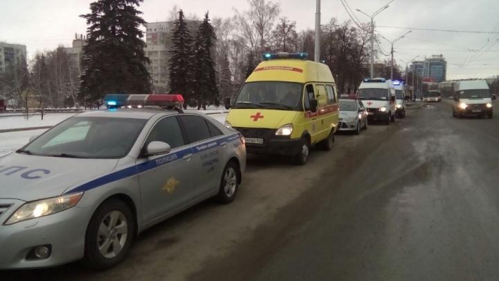 На дорогах Уфы состоялся автопробег в память о жертвах ДТП