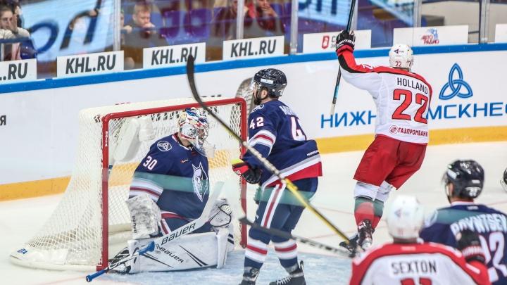 «Автомобилист» одержал шестую победу в КХЛ, обыграв в гостях «Нефтехимик»
