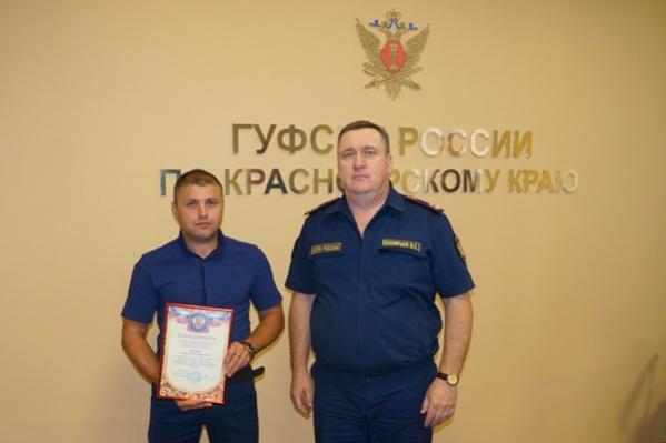 За помощь в поимке заключенного Анатолию выдали премию 30 тысяч