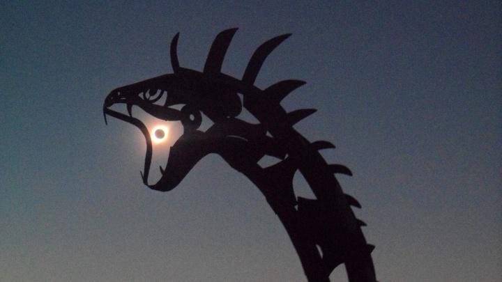 Новосибирец сфотографировал солнечное затмение в Чили
