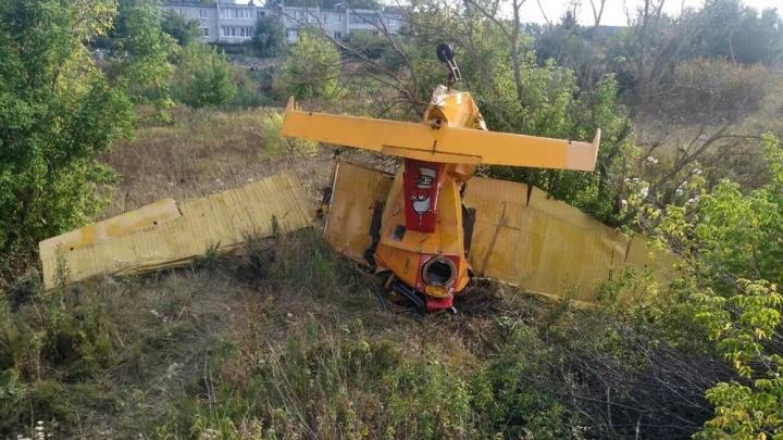 Под Ульяновском разбился самолёт с военным лётчиком из Волгограда