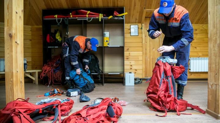 Туристка сломала ногу на Торгашинском хребте и ждала эвакуации