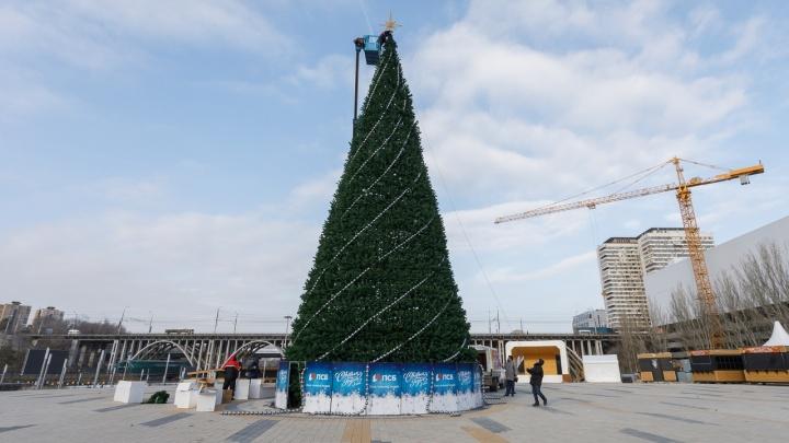 И вот она, нарядная, на праздник к нам пришла: в центре Волгограда украшают главную елку города