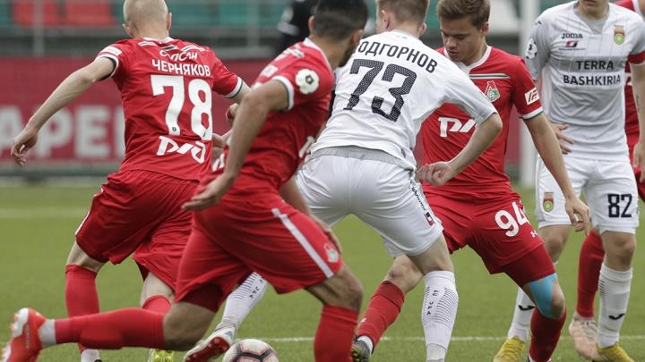 ФК «Уфа» закончил сезон в Премьер-лиге