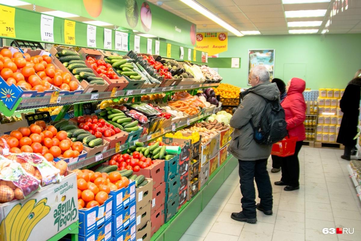 Прожиточный минимум рассчитывают на основе данных о росте или снижении цен на продукты