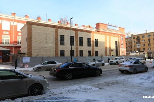 По словам мэра, ФСБ нашла нарушения в строительстве здания