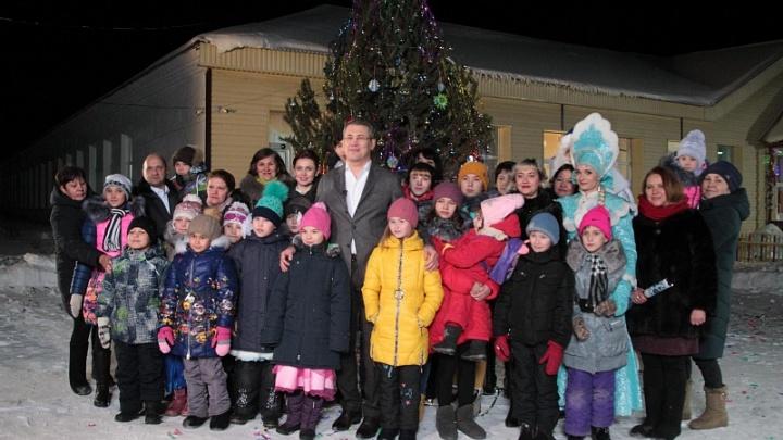 Радий Хабиров поздравил жителей Башкирии с Новым годом из детского приюта
