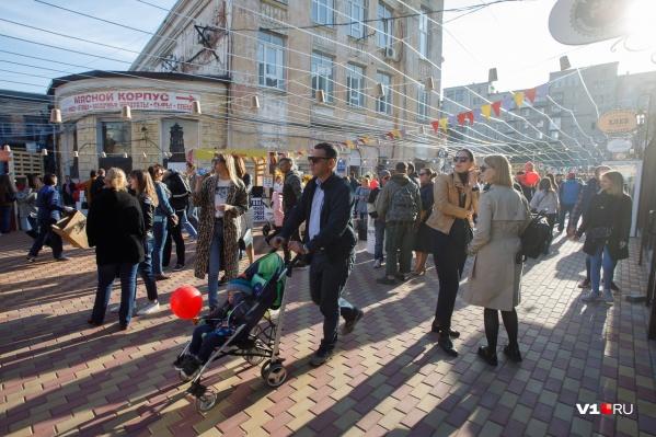 В эти выходные волгоградцев снова порадуют вкусной едой и занимательными играми у Центрального рынка