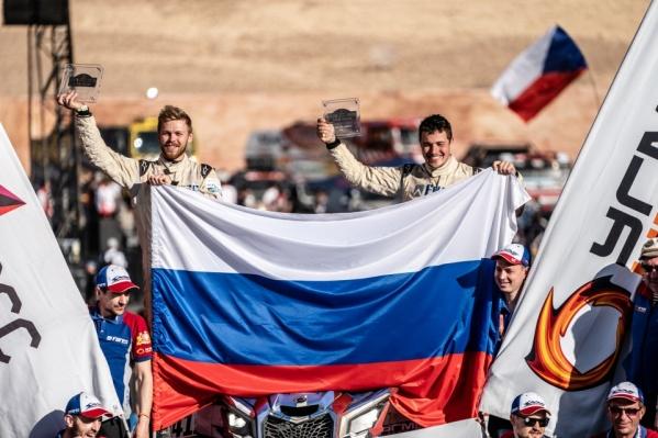 Сергей Карякин стал вторым на «Дакаре»